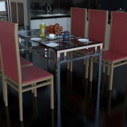 bàn ăn inox