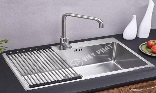 Bồn rửa chén inox 1 ngăn có bàn