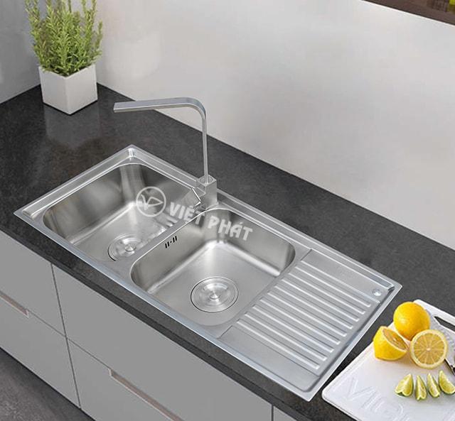 Bồn rửa chén inox hiện đại