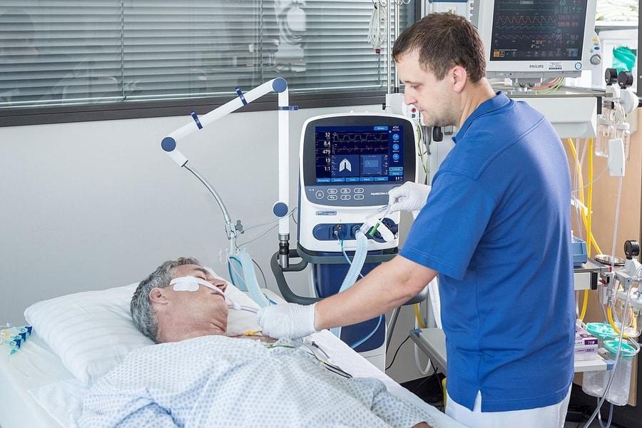 Trang thiết bị y tế giúp giảm số lượng ca tử vong ở mức thấp nhất